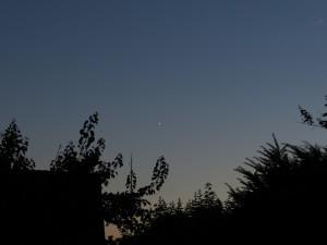 Venus und Jupiter am 01.07.2015