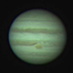Jupiter am 20.04.2015 von Jens Rothermel, Starkenburg-Sternwarte e.V. Heppenheim