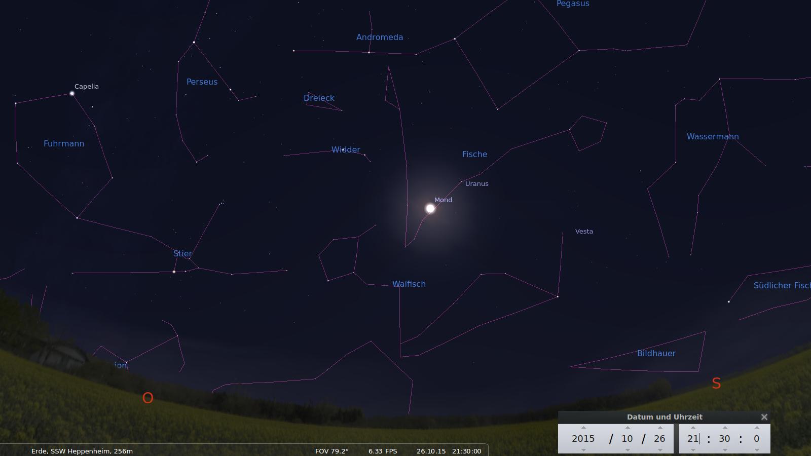 Mond in Erdnaehe
