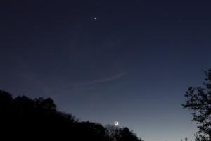 Mond_Venus_Plejaden
